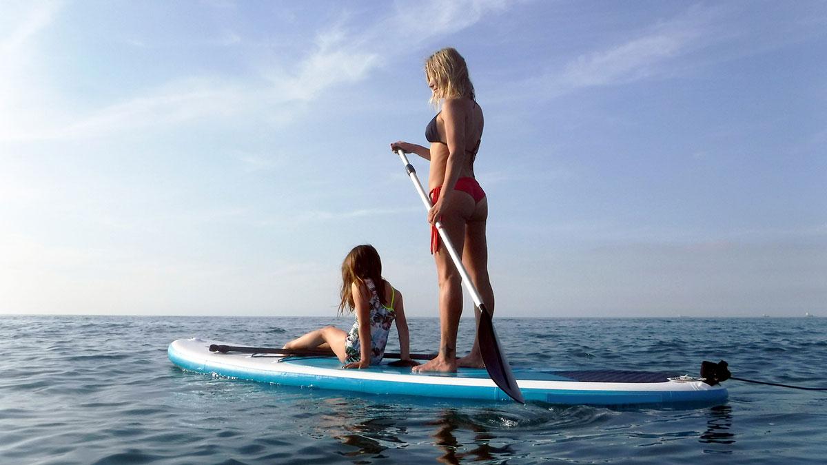 La Jolla Paddleboarding